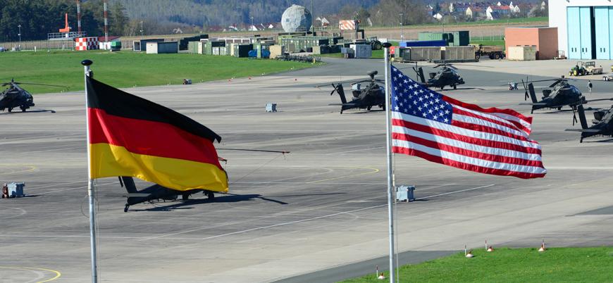 ABD Almanya'daki askerlerini çekiyor