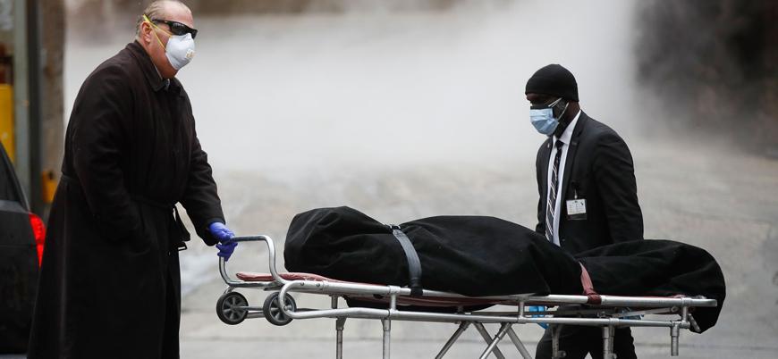 ABD'de Kovid-19 nedeniyle son 24 saatte 1142 ölüm