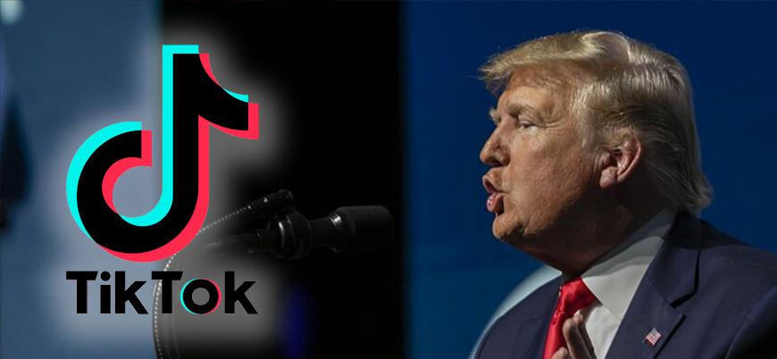 Trump: TikTok'u yasaklayacağız