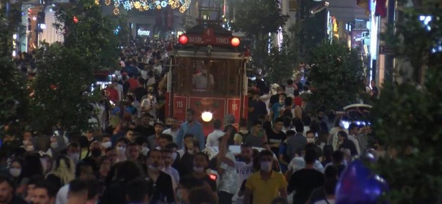 Türkiye'de Kovid-19 vaka sayısı artıyor