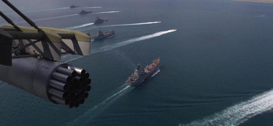 Rusya Kırım'da askeri tatbikat gerçekleştirdi