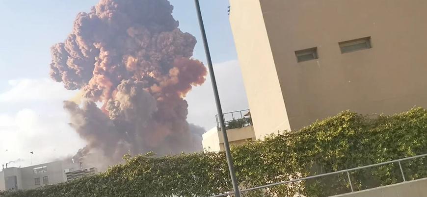 Lübnan'ın başkenti Beyrut'ta şiddetli patlama