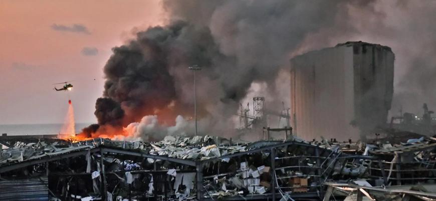 Beyrut'taki patlamada en az 78 kişi öldü, 2 hafta OHAL ilan edildi