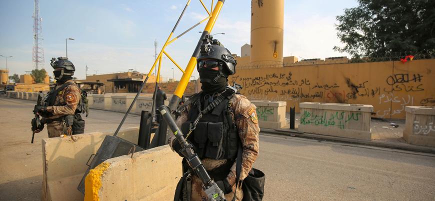 Bağdat'ta ABD üssüne füze saldırısı