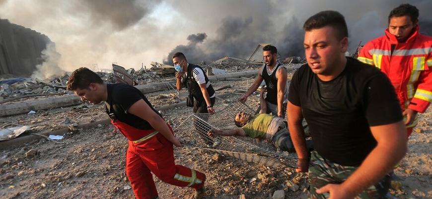 Beyrut patlamasında yaralananlar arasında Türkler de var