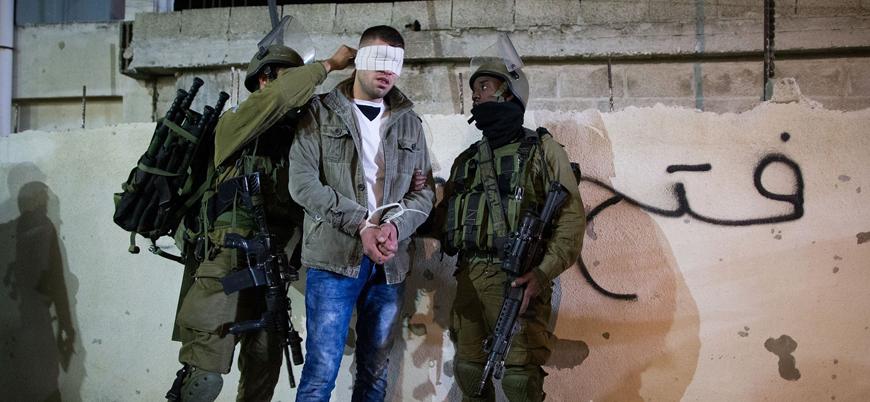 İsrail'in Filistin'deki keyfi tutuklamaları sürüyor