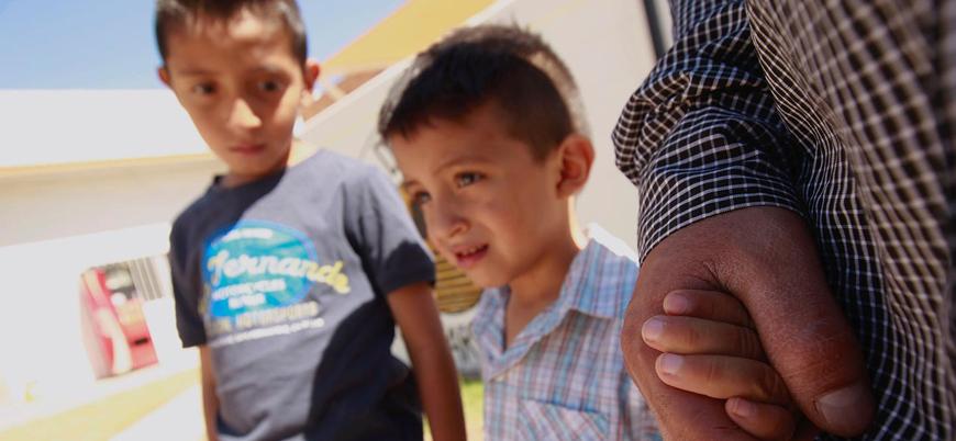 ABD 6 ayda 2 bin çocuğu sınır dışı etti
