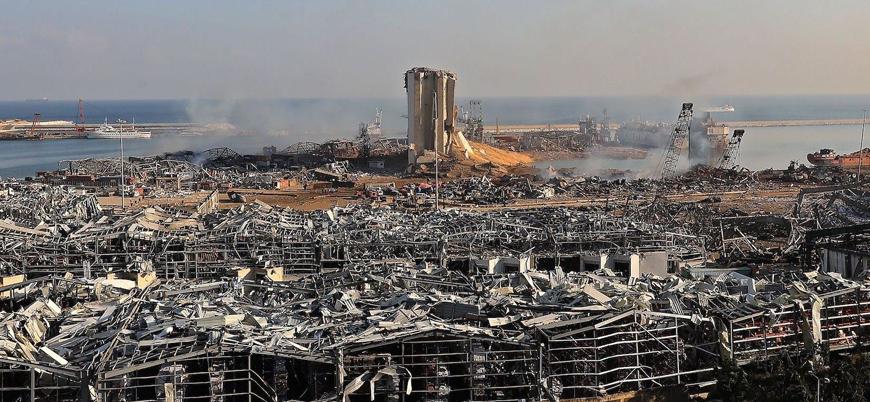 """Beyrut: """"Tarihin en büyük nükleer olmayan patlamalarından biri"""""""