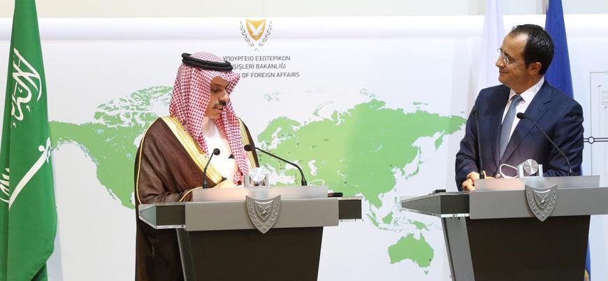 Suudi Arabistan ile Güney Kıbrıs'tan 'Libya' açıklaması