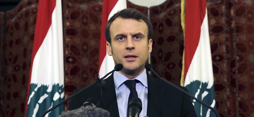 Macron: Lübnan'da boşluğu Fransa doldurmazsa Türkiye, İran ve Suudi Arabistan doldurur
