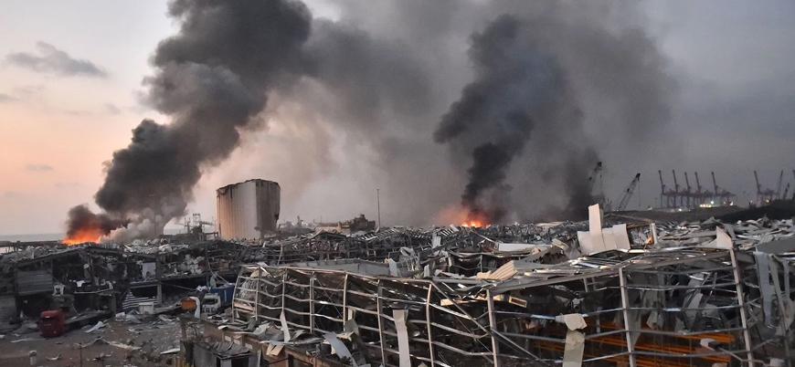 Beyrut'taki patlamada dış müdahale ihtimali araştırılacak