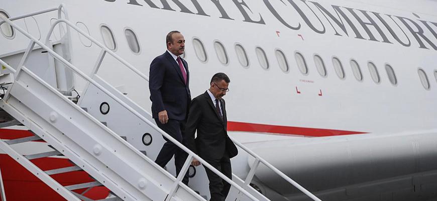 Cumhurbaşkanı Yardımcısı Oktay ve Bakan Çavuşoğlu Lübnan'da