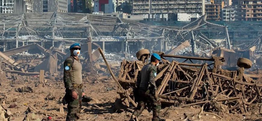 """""""Türkiye Beyrut'un yeniden inşası için yardıma hazır"""""""