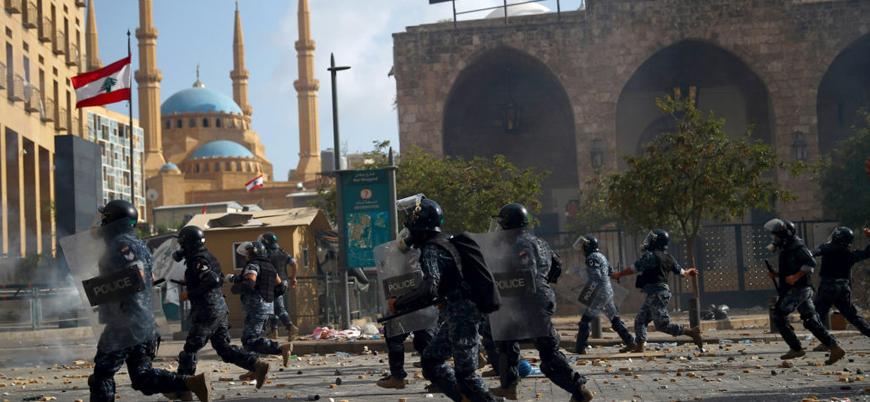 Beyrut'taki gösterilerde çıkan çatışmada 1 kişi öldü 238 kişi yaralandı
