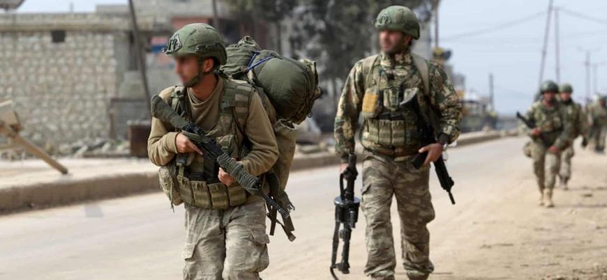 Türk askeri İdlib'in güneyinde konuşlandı