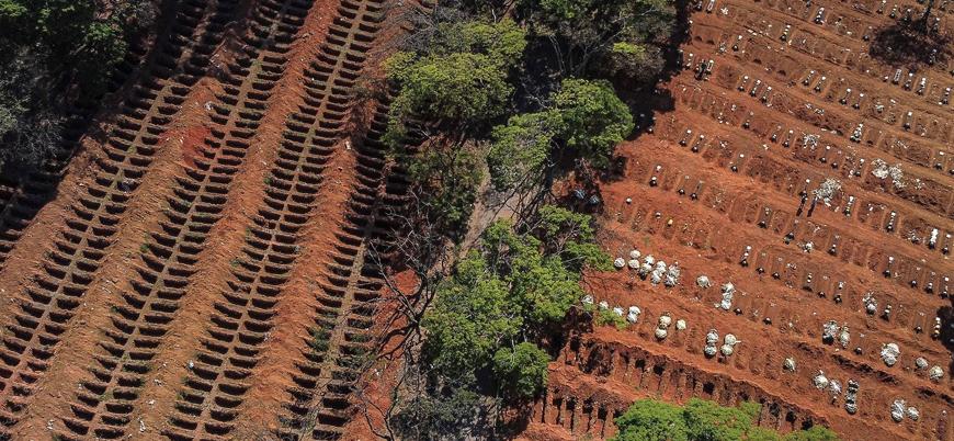 Brezilya'da Kovid-19 kaynaklı ölü sayısı 100 bini aştı