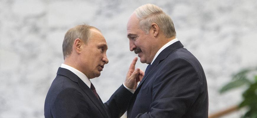 Putin, 26 yıldır iktidarda olan Belarus lideri Lukaşenko'nun 'yeni zaferini' kutladı
