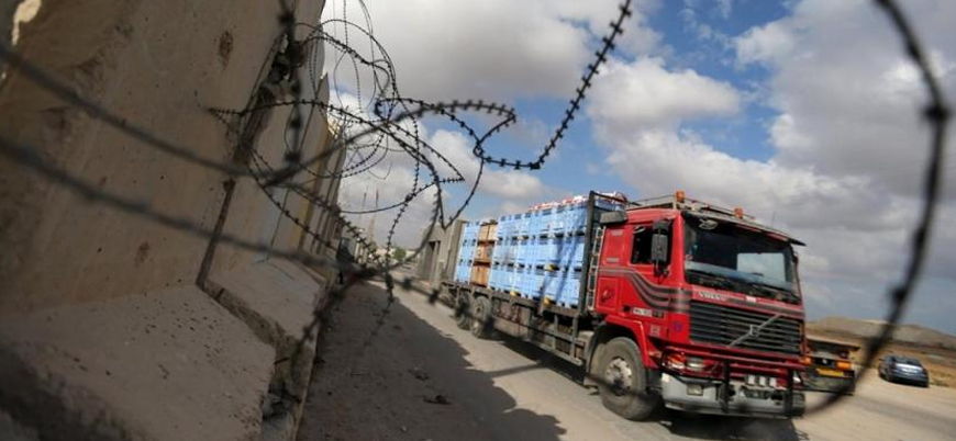 İsrail Gazze'nin tek ticaret kapısını kapatıyor