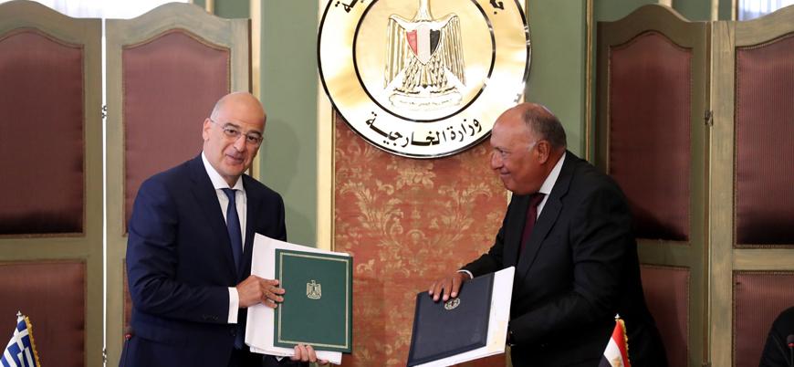 Yunanistan Doğu Akdeniz'de Mısır'la neden anlaşma imzaladı?