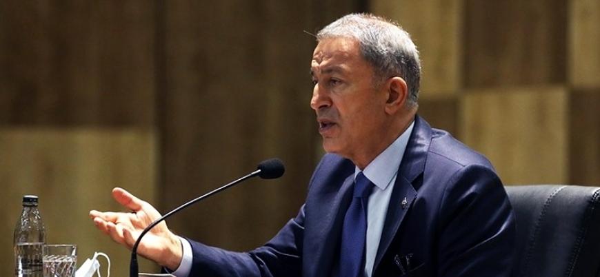 Hulusi Akar'dan 'Doğu Akdeniz' açıklaması