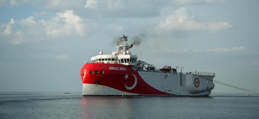 Türkiye sondaj gemisi Oruç Reis'in faaliyet haritasını yayınladı