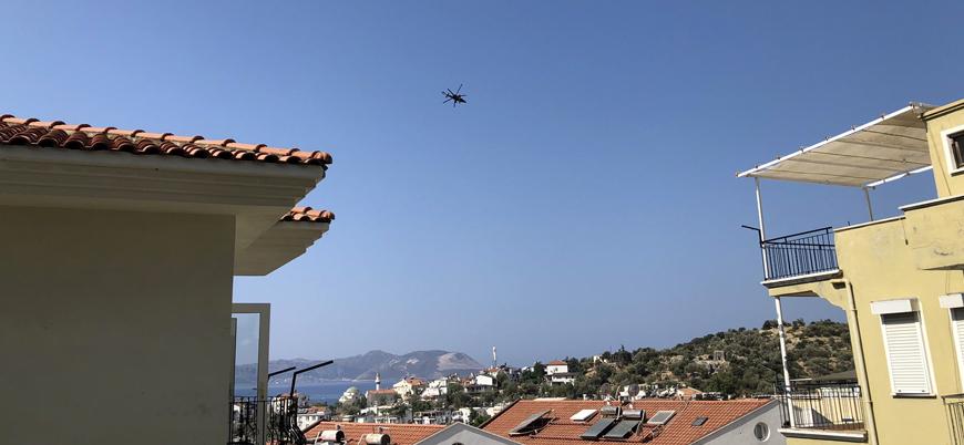 ATAK helikopterlerden Yunan adaları yakınında devriye uçuşu