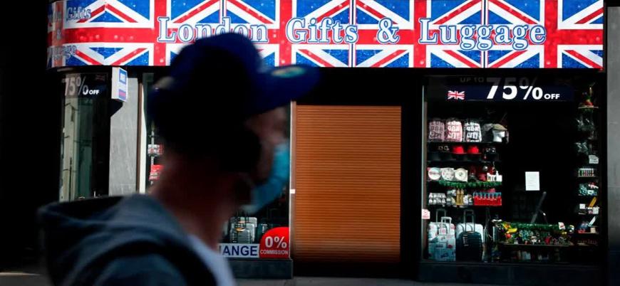 İngiltere ekonomisi ikinci çeyrekte yüzde 20.4 daraldı