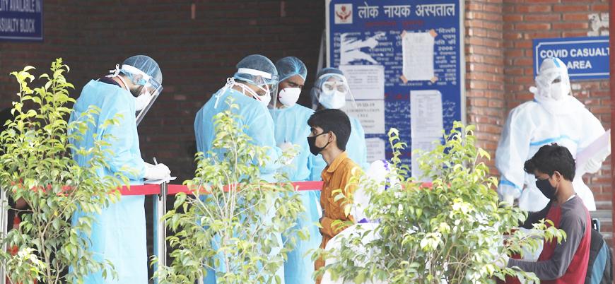 Hindistan'da bir günde 67 bin yeni vaka 942 ölüm