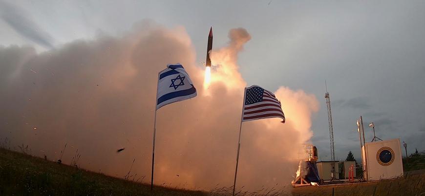 ABD ve İsrail 'Arrow 2' balistik füzesini test etti