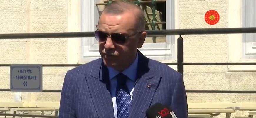 Erdoğan: BAE ile diplomatik ilişkileri askıya almak gibi bir adım olabilir