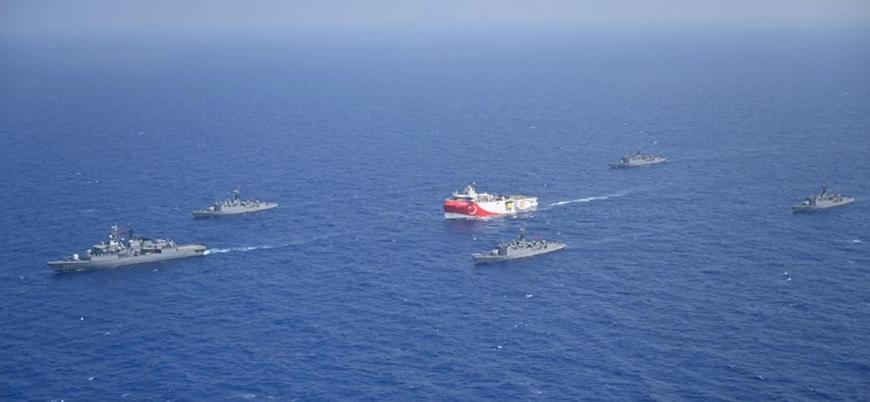 Almanya Fransa'nın Doğu Akdeniz politikasını desteklemiyor