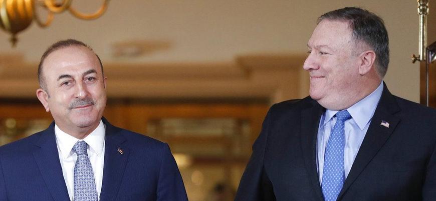 Çavuşoğlu ile Pompeo'dan Doğu Akdeniz ve Libya görüşmesi