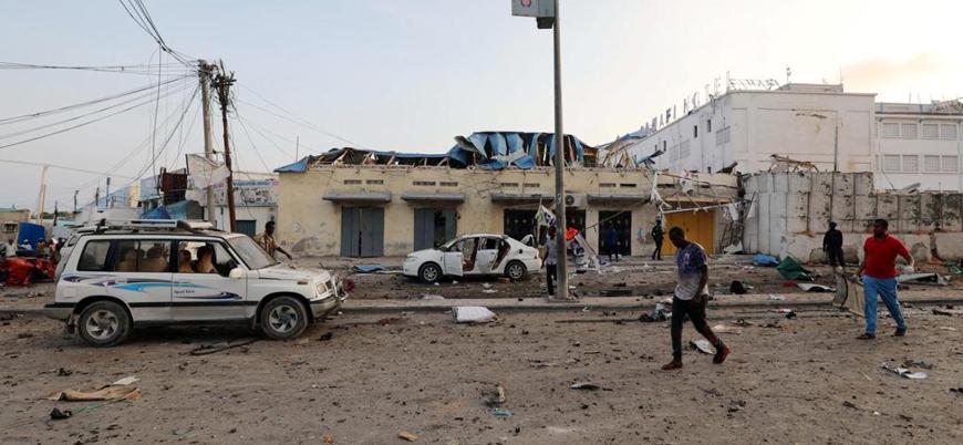 Eş Şebab'tan Somali'nin başkenti Mogadişu'da bombalı saldırı