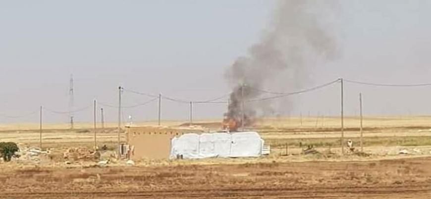 ABD Suriye'de Esed rejimini vurdu