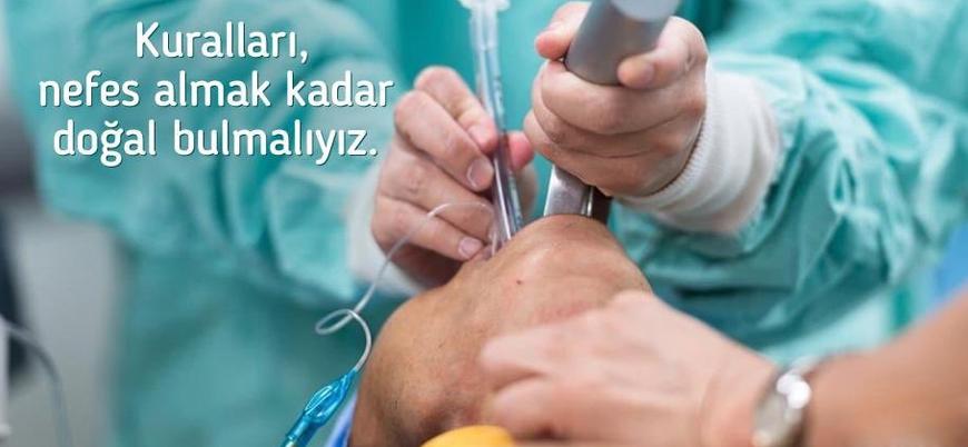 Sağlık Bakanı Koca'dan entübasyon uyarısı