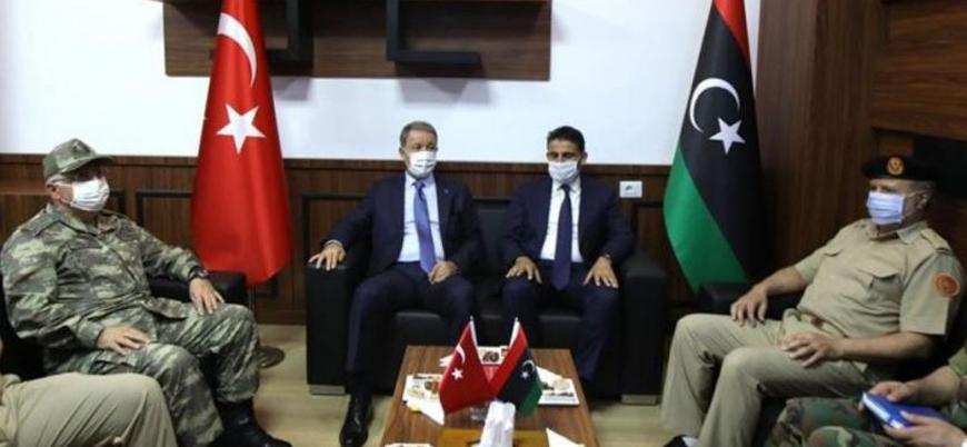 Akar: 'Libya Libyalılarındır' diyerek BM tarafından tanınan meşru hükümetin yanındayız