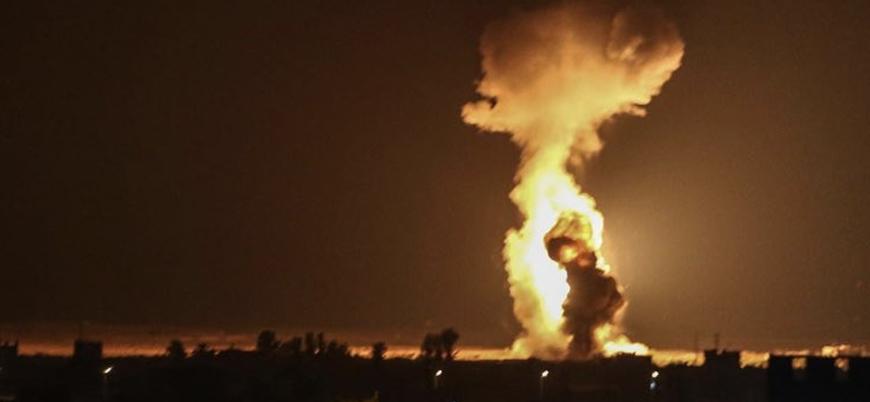 İsrail savaş uçakları Gazze'de tarım arazilerini bombaladı