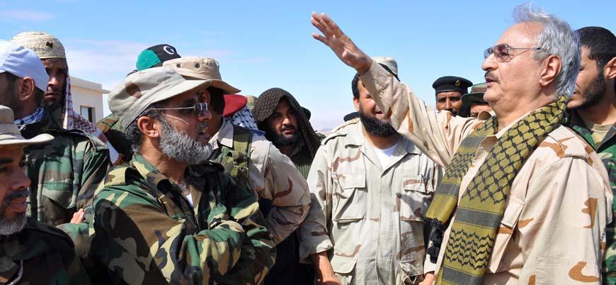 Hafter Libya'da petrol üretimi blokajını kaldırdı