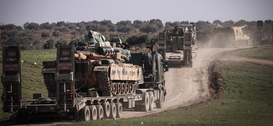 Suriye'de artan Türk Silahlı Kuvvetleri hareketliliği