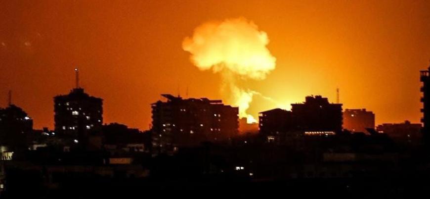 İsrail'in saldırılarına Gazze'den füzeli yanıt: İki Yahudi yerleşimci yaralandı