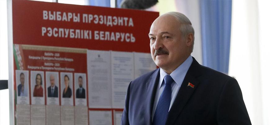 Belarus'tan Batı'ya tepki: Kendi işinize bakın