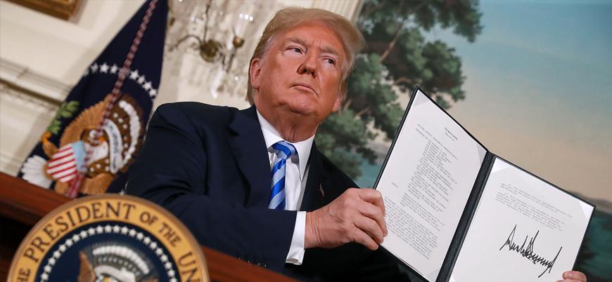 ABD İran'a yönelik yeni yaptırımlar için düğmeye bastı