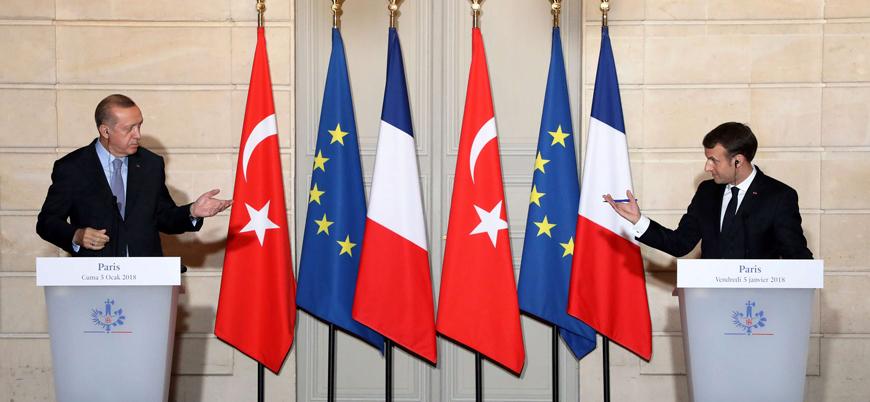 Macron: Erdoğan'ın yayılmacı politikası Avrupa'da istikrarı bozuyor