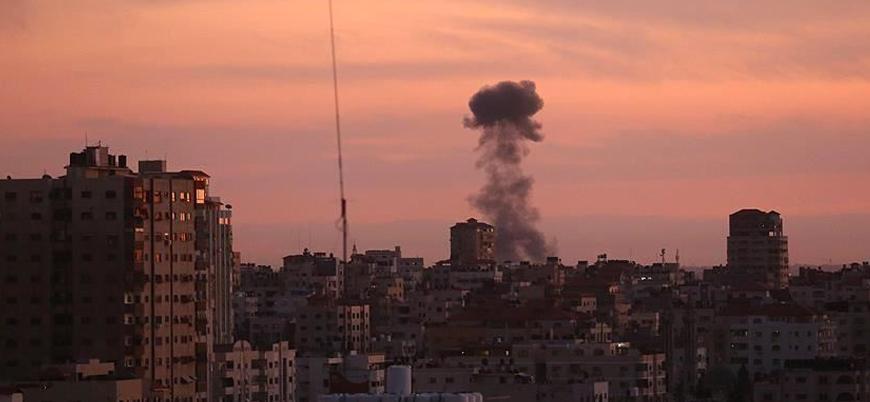İsrail Gazze'ye yönelik bombardımanları sürdürüyor