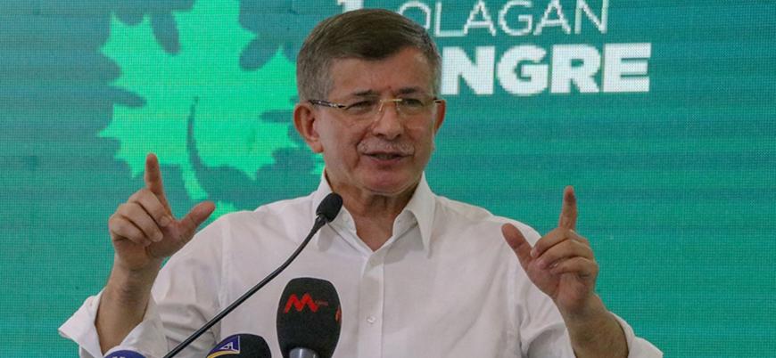 Gelecek Partisi lideri Davutoğlu: Bir dip dalgası geliyor