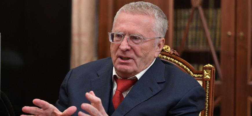 Rus siyasetçi Jirinovski: Türkiye Turan Birliği'ni kurmayı hedefliyor