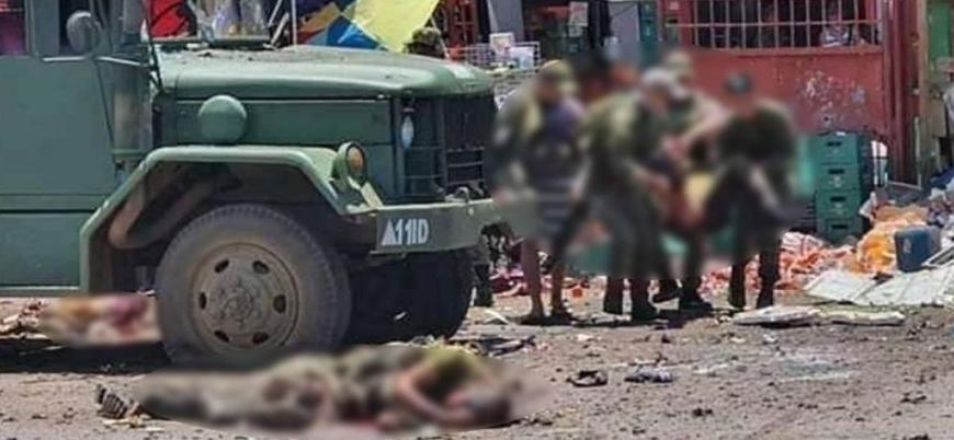 Filipinler'de ordu güçlerine bombalı saldırı
