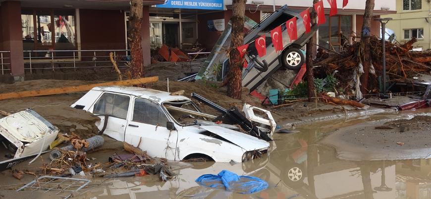 Giresun'daki selde hayatını kaybedenlerin sayısı 8'e çıktı