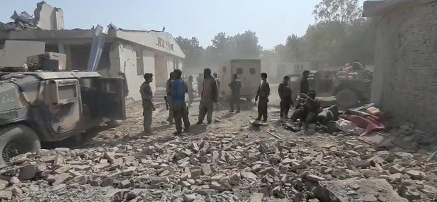 Afganistan'ın Belh ilinde hükümet güçlerine bombalı araç saldırısı
