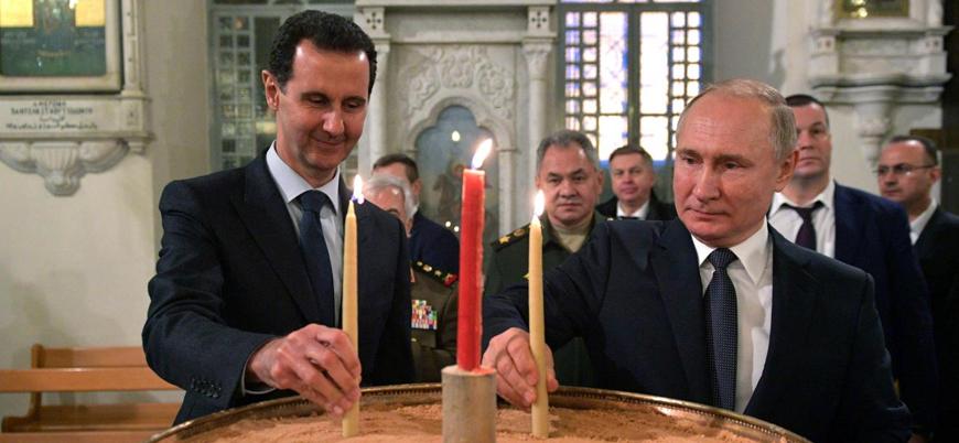 Esed'i kuklaya dönüştüren Rusya, Suriye topraklarına el koyuyor
